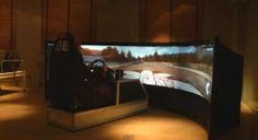 World's Largest Curved Gaming Screen Spans 160 Degrees #technology