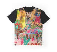 Fun In Space Grafik T-Shirt