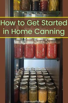When your vegetable garden comes to harvest, you may be interesting in learning how to can. In gleaning from home canning expert Melissa K. Norris, you will get Pressure Canning Recipes, Home Canning Recipes, Canning Tips, Cooking Recipes, Pressure Cooking, Healthy Cooking, Canning Food Preservation, Preserving Food, Water Bath Cooking