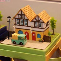 [Miniatuart] Miniatuart Mini : Small city (Assemble kit) (Model Train) Other picture2