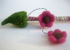 Mixed Media Hair Stick