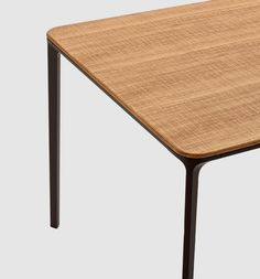 Slim Wood Table By Matthias Demacker For Sovet.com