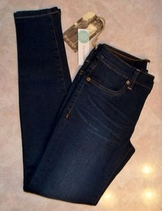 "December 2015 Stitch Fix. Henry & Belle Jaylie Skinny Jean in Dark wash. Super skinny ankle with a 29"" inseam. These are the softest most comfortable jeans ever! so much stretch, they fit like a legging.  Cotton/Poly/Rayon/Spandex blend.  <a href=""https://www.stitchfix.com/referral/4292370"" rel=""nofollow"" target=""_blank"">www.stitchfix.com...</a>"