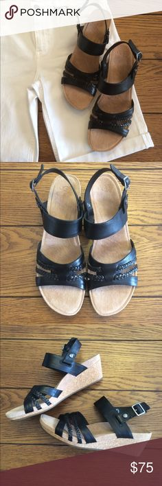 NIB UGG Black Serinda Sandals w/ Removable Strap New in box UGG Black Sandals. The style is called Serinda. They are a ladies 9. Smoke free home. Bundle to save $. UGG Shoes Sandals