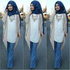 Pin by Tria Danta on Simply covered Modern Hijab Fashion, Muslim Women Fashion, Islamic Fashion, Modest Fashion, Fashion Fashion, Hijab Mode Inspiration, Hijab Wear, Casual Hijab Outfit, Hijab Chic