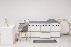 Find out how you can have as much storage as possible in your home? We have the answer. Ava, Loft, Kids Rugs, Storage, Furniture, Home Decor, Ideas, Purse Storage, Decoration Home