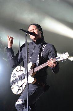 Tom DeLonge, Blink-182, Voodoo Fest, 2011