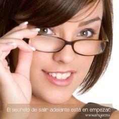 #Frases El secreto de salir adelante está en empezar. www.emujer.mx