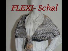 Strickring - Loom Knit - PRYM - Flexi - Schal - Veronika Hug - YouTube