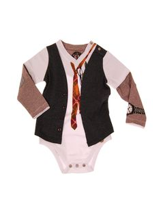 Mini Shatsu - Young CEO Twofer Bodysuit | VAULT