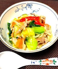 今日はかんたんに済ましました( ´ ▽ ` )ノ - 7件のもぐもぐ - ありあわせの中華丼(^-^)/ by ashitamohareru