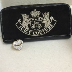 JUICY COUTURE WALLET &RING COMBO Authentic Juicy Couture Wallet and Heart Ring Juicy Couture Bags Wallets