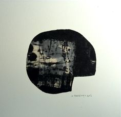 Drypoint / Chine collé / Monoprint Washi / Sumi / Ink