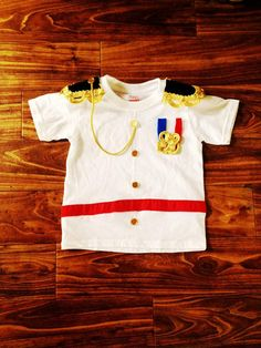 Children's Prince Charming Costume Shirt - Toddler and Kid's Sizes