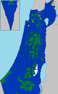 Ethnic Composition of Israel and Palestine