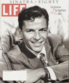 """Frank Sinatra at 80 ~ Oct. 1, 1995 issue ~ Old Life Magazines ~ Click image to purchase. Enter """"pinterest"""" at checkout for a 12% discount."""