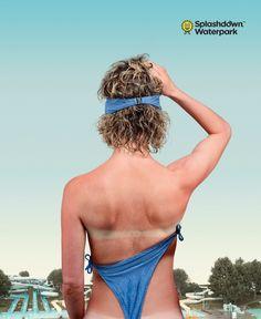 何が起きたの!? カナダのウォーターパークによる想像力を刺激するプリント広告   AdGang