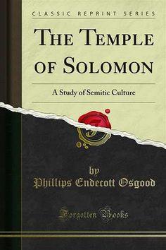 Prezzi e Sconti: The #temple of solomon edito da Forgotten books  ad Euro 5.85 in #Ebook #History