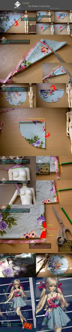 5th Atelier Tutorial: No-Pattern Circle Dress by Ylden on DeviantArt