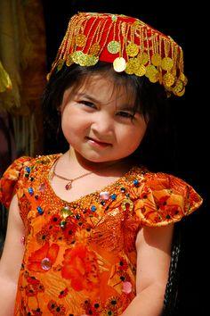 Republic of Uzbekistan, traditional clothing for children
