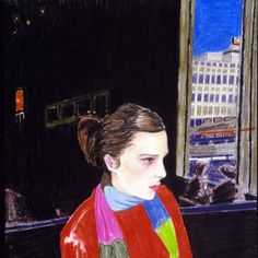 Elizabeth Peyton's 2001 portrait of Stillpass. Courtesy of author. -Wmag