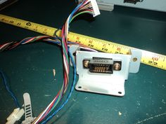 Pachislo Slot Machine Parts Hopper Connector & Cable Originally from Cyborg 009