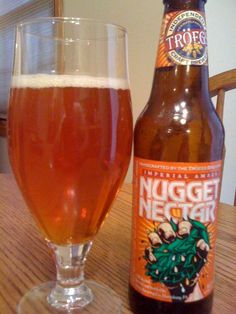 Troeg's Nugget Nectar Imperial Amber Ale, an absolutely delicious Ale, this one is in my top 5 all time!!