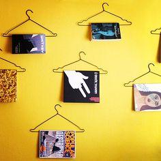 magazine hanger | installation by Me.