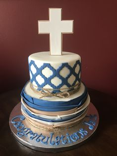 Confirmation Cake Cross Cakes, Confirmation Cakes