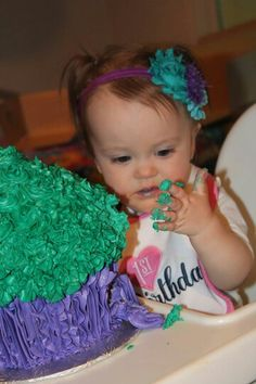 Not too sure about her cake lol