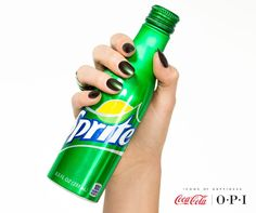 Here's to a refreshing weekend! Drink it all in. (Shade shown: Green on the Runway) #OPICokeStyle http://www.opiuk.com/store/coca-cola-collection/green-on-the-runway
