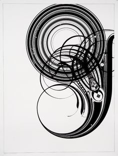 G - Ink on paper - Tauba Auerbach