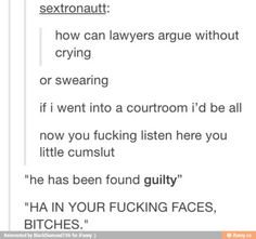 Tumblr... if we ever become Lawers•