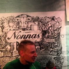 Nonnas takeaway Pizza launch party