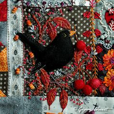 crazy quilting by Gipsy Quilt.