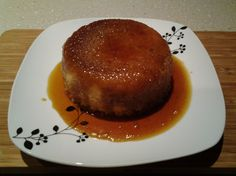 Quick  Microwave Golden Syrup Pudding