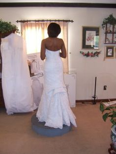American Bustle Wedding Dress | French Bustle Pictures And Wedding Dress Bustle Tips