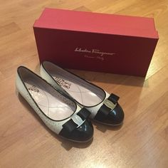 Ferragamo Flats Size 7.5 Ferragamo Flats Size 7.5. New with tags, box and dust bag. So classy ✨ Never worn. Beautiful ❤️ A gift from my grandmother that I never wore  Ferragamo Shoes Flats & Loafers