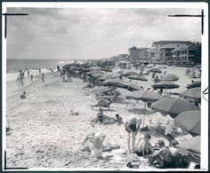 1954: A typical day at Ocean City MD #ocmd