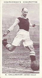 1938 W.A.& A.C Churchman #5 E. Callaghan Front