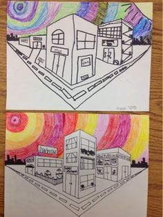 Mrs. Knight's Smartest Artists: One point, two point Perspective Drawing