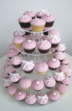 #Cakespiration Frosted Indulgence - Pink Frosted Cupcakes