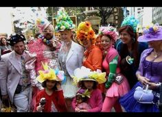 Easter Bonnet Parade - fun outfits