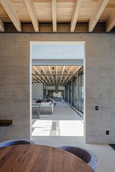 Image 3 of 26 from gallery of Lake View House / grupoarquitectura. Photograph by Agustín Garza Tropical House Design, Tropical Houses, Sicily Villas, Timber Structure, Indoor Outdoor Living, Loft Style, Cabins In The Woods, Lake View, Ground Floor
