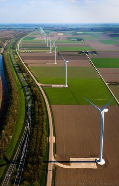 Zeewolde, The Netherlands Windmills In Amsterdam, Turbofan Engine, Amsterdam Holland, Small Lake, New Energy, Utrecht, Delft, Renewable Energy, Homeland