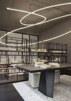 A new urban space to restore the Torre Velasca in Milan. Living Divani Temporary Store designed by Piero Lissoni @livingdivani