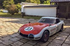 Toyota 2000gt, Epoch, Race Cars, Donuts, Automobile, Wheels, Garage, Racing, Japan