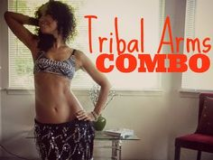 Tribal arms belly dance combination ~ Free belly dance classes online