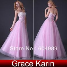 Wholesale Prom Dresses - Buy New GK Sexy Stock Strapless Corset-style Gown Prom Ball Evening 2013 Party Dresses for Women 8 Size CL3519, $37...