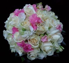 Sweet peas and roses